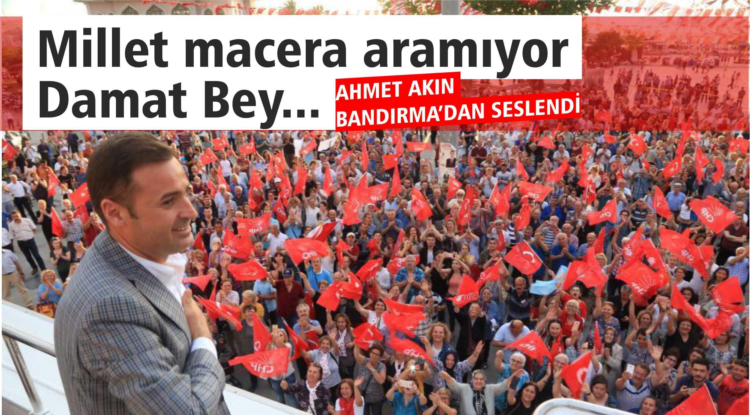"""""""NE YAPARSANIZ YAPIN BU MİLLET SİZDEN BIKTI"""""""