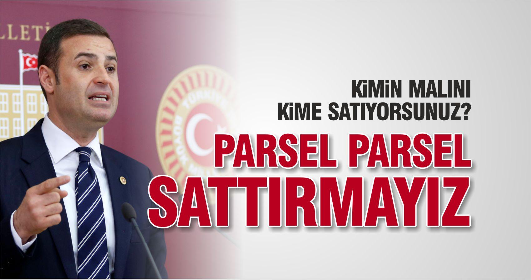 BALIKESİR'İN MERALARINI PARSEL PARSEL SATTIRMAYIZ