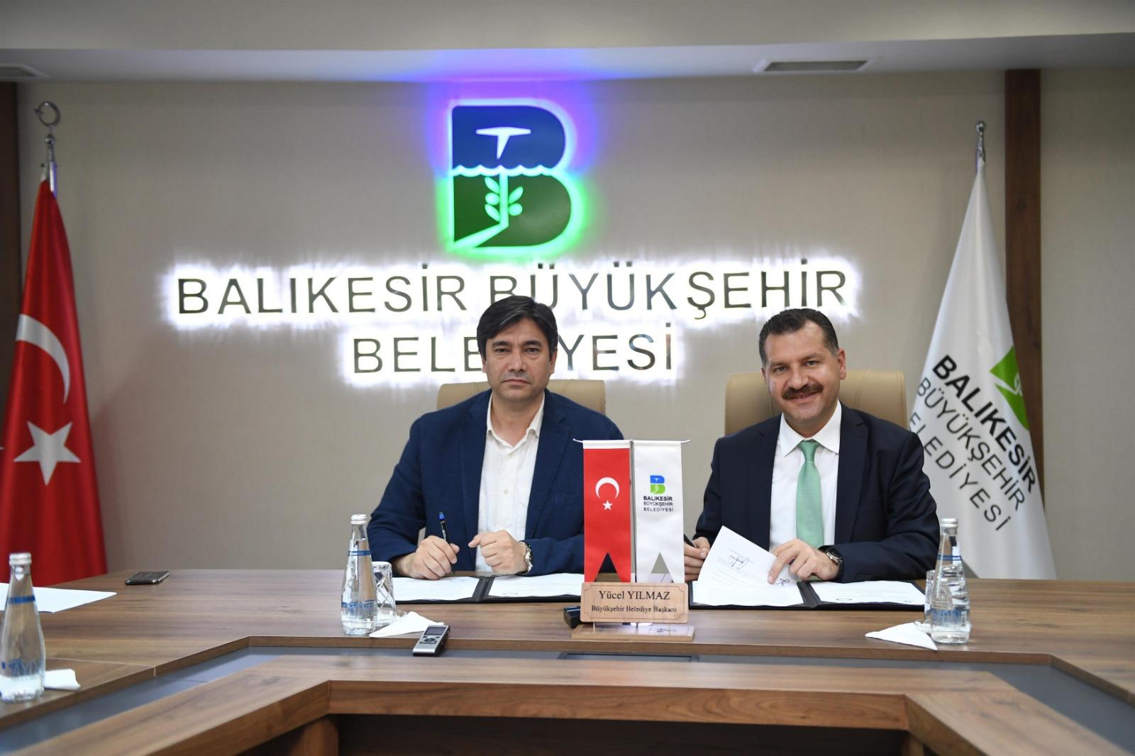 Büyükşehir Belediyesinde 1150 memur SDS imzaladı