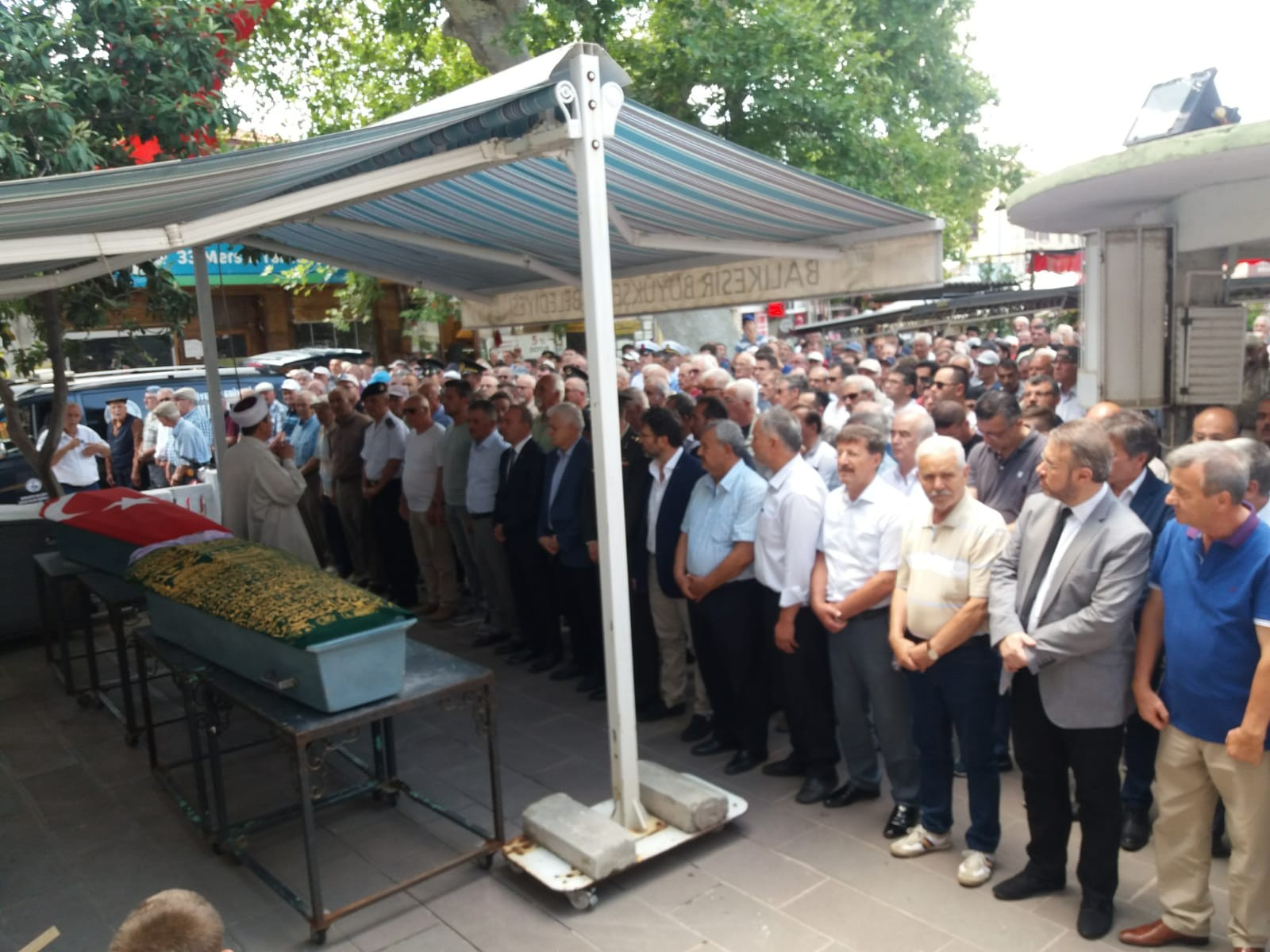 KIBRIS GAZİSİ EMEKLİ ASTSUBAY SON YOLCULUĞA UĞURLANDI
