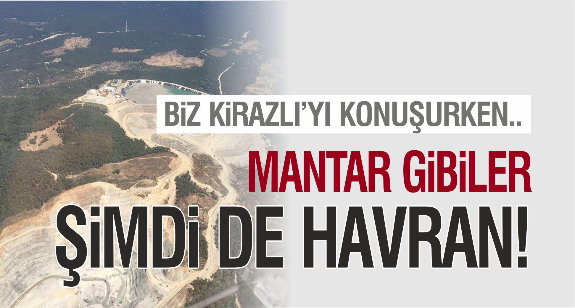MANTAR GİBİLER.. ŞİMDİ DE HAVRAN!
