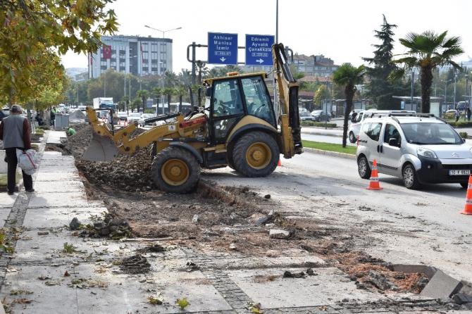 VASIF ÇINAR CADDESİ'Nİ YAYALARDAN ÇALDILAR!
