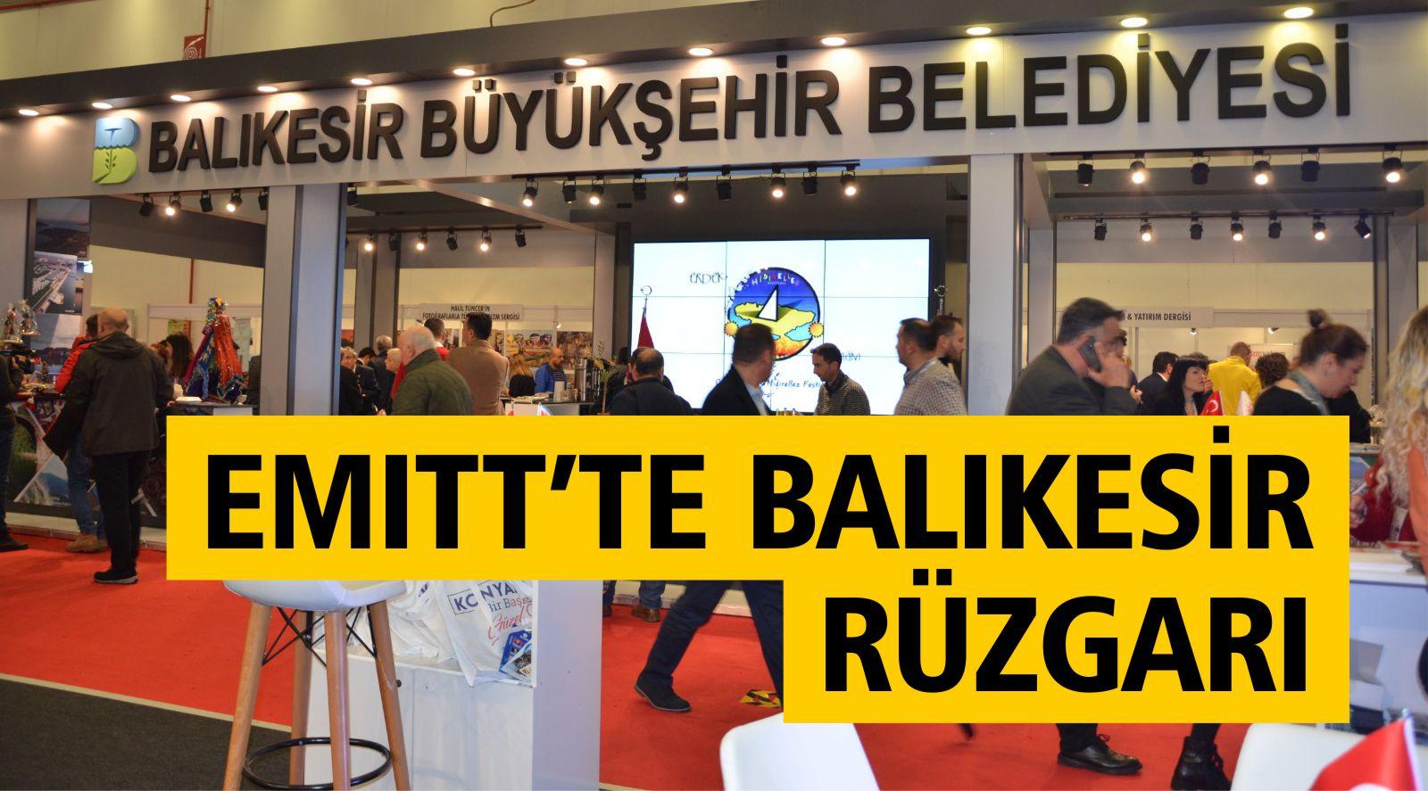 EMITT'TE BALIKESİR RÜZGARI ESTİ