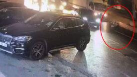 İstanbul'un göbeğinde dehşet! Kadını hareket halindeki arabadan attılar