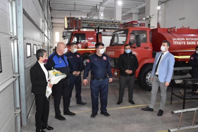 Edremit Belediyesi'nden arama kurtarma ekibine tebrik