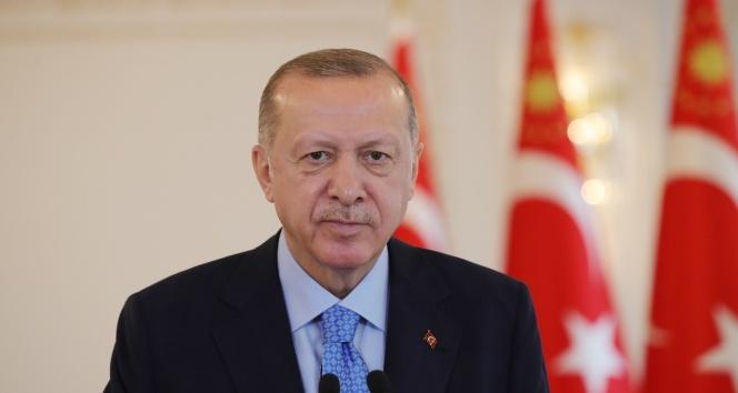 Cumhurbaşkanı Erdoğan, Ortak Merkez'de görev yapmak üzere Bakü'de bulanan Mehmetçiğe hitap etti