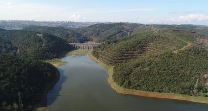 İstanbul'da barajların doluluk oranı yüzde 40 seviyesini geçti