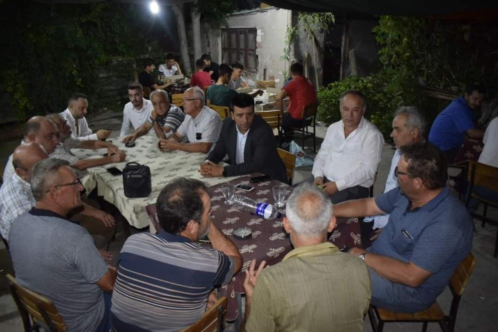 MHP'DEN ATKÖY'E ZİYARET