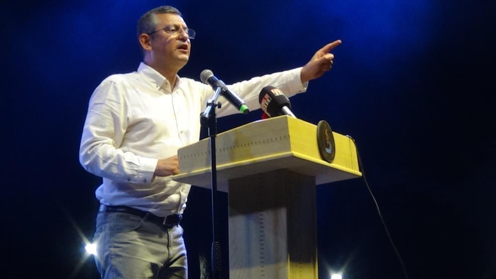 SANAT FESTİVALİ'NDEN CHP'Lİ ÖZGÜR ÖZEL'DEN AŞI ÇAĞRISI