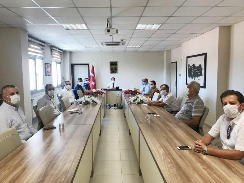 BURHANİYE'DE AFET YARDIM KAMPANYASI TOPLANTASI YAPILDI
