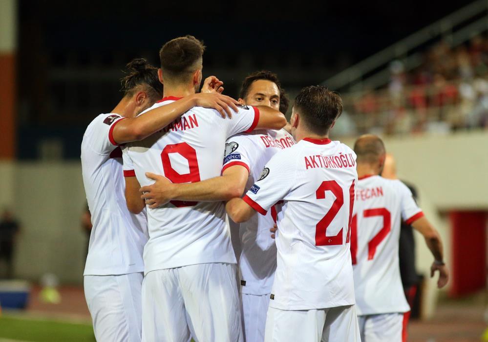 2022 FIFA DÜNYA KUPASI ELEMELERİ: TÜRKİYE, CEBELİTARIK'I 3-0 YENDİ