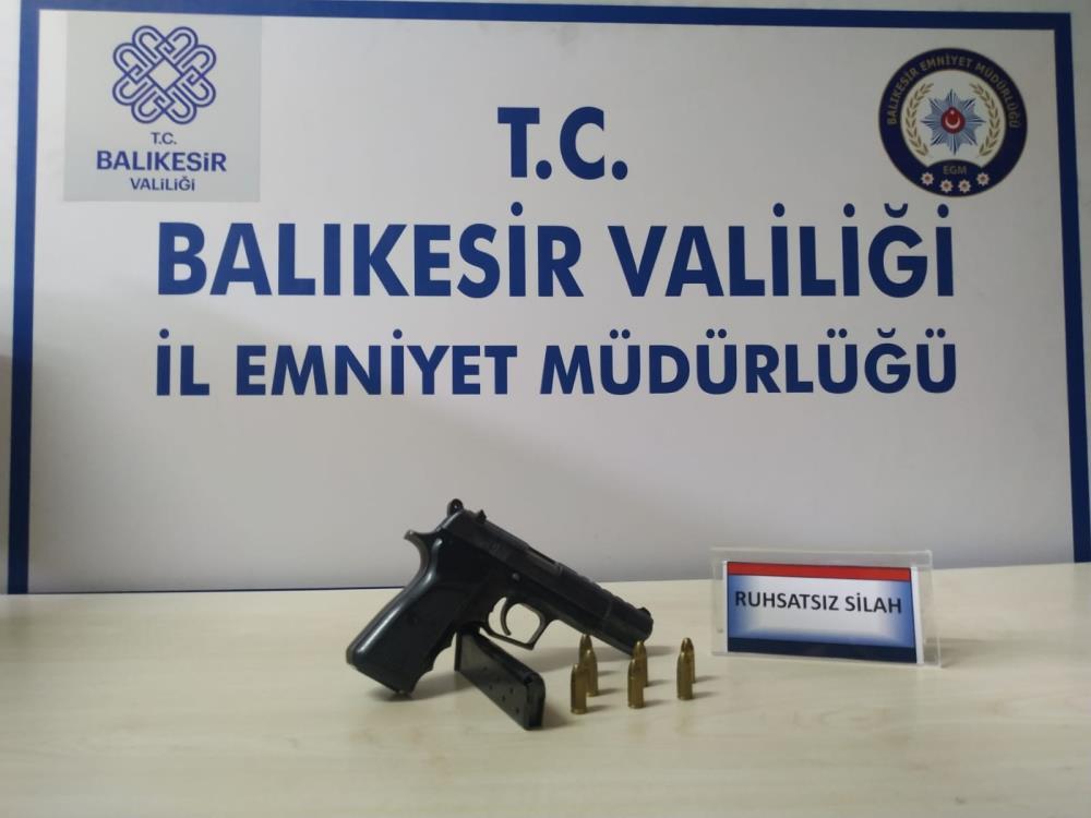 BALIKESİR'DE 16 ŞAHSA HUZUR OPERASYONU
