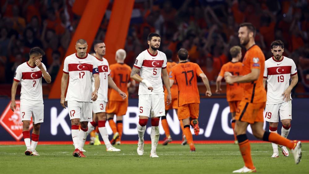 2022 FIFA DÜNYA KUPASI ELEMELERİ: HOLLANDA: 6 – TÜRKİYE: 1